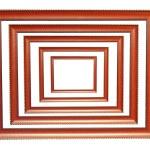Wooden frames — Stock Photo