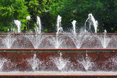 Fountain water — Stock Photo