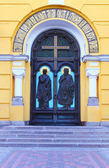 Main antrance to St Vladimir cathedral — Stock Photo