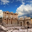 Celsus Library in Ephesus — Foto Stock