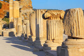 Pillars in Ephesus — Stock Photo