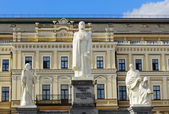 Monument to Queen Olga and the Saints — Stock Photo