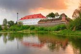 Castle in Dubno — Stock Photo