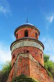 Turret of the castle in Dubno — Stock Photo
