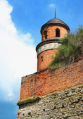 Turret of the castle in Dubno — Stock Photo