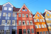 Colorful buildings — Stockfoto