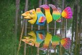 Fish sculpture — Стоковое фото