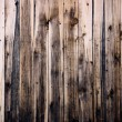 Close up of  wooden fence panels — Foto Stock