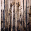 Close up of  wooden fence panels — 图库照片