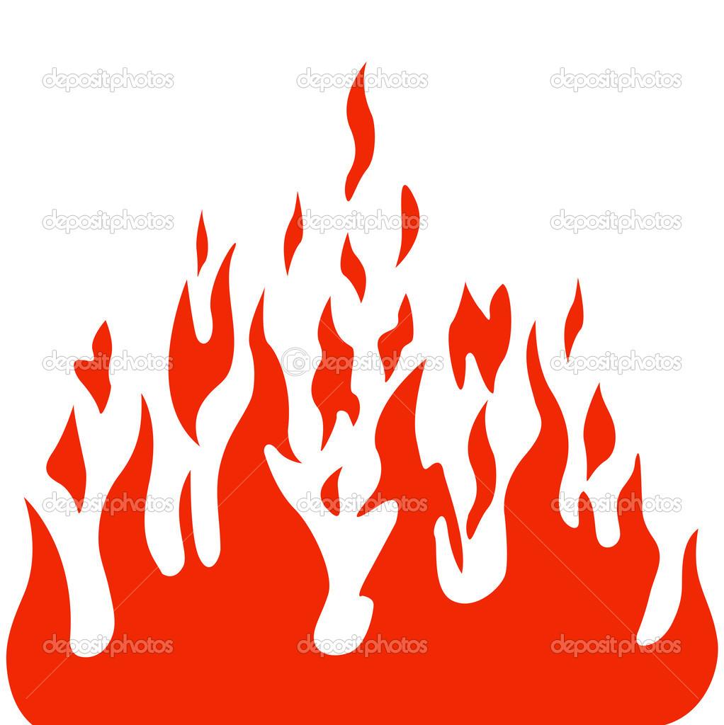 燃烧火焰火矢量背景