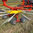 Stock Photo: Agricultural machinery for preparing hay