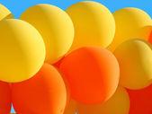 Background of beautiful balloons — Stock Photo