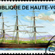 REPUBLIC OF UPPER VOLTA- CIRCA 1984: A stamp printed in Republic — Stock Photo