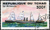 REPUBLIC OF CHAD - CIRCA 1984: A stamp printed in Republic of Ch — Stock Photo