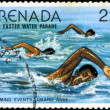 GRENADA - CIRCA 1977: A stamp printed in Grenada issued for the - Stock Photo