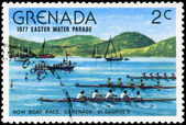 GRENADA - CIRCA 1977: A stamp printed in Grenada issued for the — Stock Photo