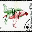 RUSSIA - CIRCA 1992: A stamp printed in Russia showing olympic g — Stock Photo #22662103