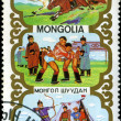 Royalty-Free Stock Photo: MONGOLIA - CIRCA 1988: stamp printed by Mongolia, shows Mongolia
