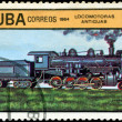 CUBA - CIRCA 1984: A set of postage stamps printed in CUBA shows - Stock fotografie