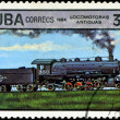 CUBA - CIRCA 1984: A set of postage stamps printed in CUBA shows — Stock Photo