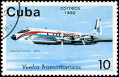 CUBA - CIRCA 1988: A Stamp printed in CUBA shows image of the ai — Stock Photo