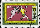 MONGOLIAN - CIRCA 1970: Various Soccer Scenes , Mexico, circa 19 — Stock Photo