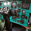 Airplane Cockpit  Tu-144. — Stock Photo