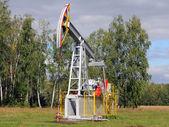 Oil pumpjack. Oil industry equipment. — Stock Photo
