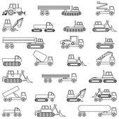 Samochody, pojazdy. nadwozia. — Wektor stockowy