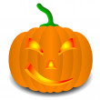 Pumpkins for Halloween. Vector illustration. — Stock Vector