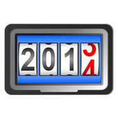 2014 New Year counter, vector. — Stockvektor