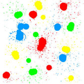 Brush blot vector on white background. Vector illustration. — Stock Vector