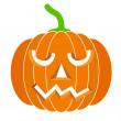 Pumpkins for Halloween. Vector illustration. — Stock Vector #34466039