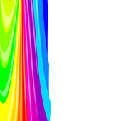 Abstract background color stripes. Vector illustration. — ストックベクタ