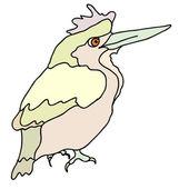 A small forest bird — Stock Vector