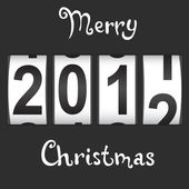 2012 New Year counter, vector. — Stockvektor