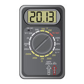 2013 New Year Multimeter , vector. — Stock Vector