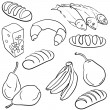 Food icons — Stock Vector #34520441