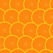 Grapefruit seamless background wallpaper — Stock Vector