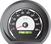 Car speedometers for racing design. — Stock Vector