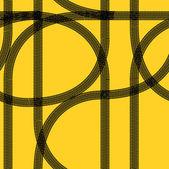 Seamless wallpaper winter tire tracks pattern illustration — Stock Vector