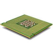 Computer micro processor. Vector. — Stock Vector