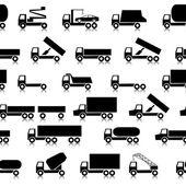 Cars, vehicles. Car body. Seamless wallpaper. — Stock Vector