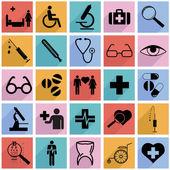 Medicine symbols — Stock Vector