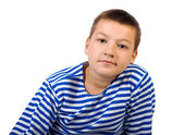 Boy teenager — Stock Photo