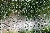 ガラス水滴から背景 — ストック写真