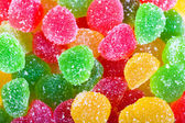 Background from colorful sweets of sugar candies — Стоковое фото