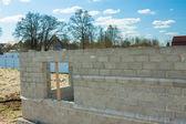Edifícios de tijolos — Fotografia Stock