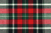 Checkered fabric texture — Stock Photo