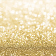 Stock Photo: Gold glitter background